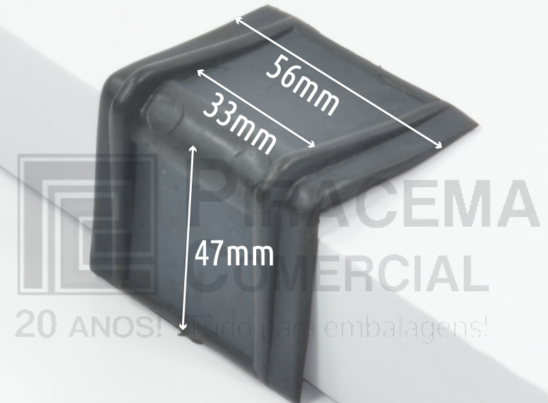Cantoneira Plástica para fitas de 32mm